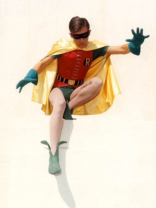 Burt Ward as Robin Jumping
