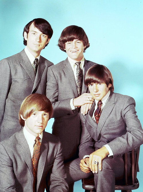 Color Shot of the TV's Monkees in Suits