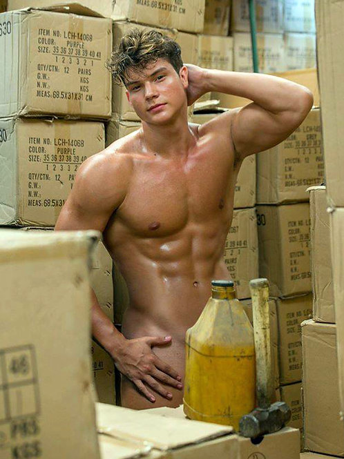 Luis Domingo Baez Naked in the Warehouse