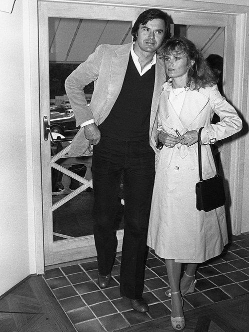 Robert Urich with Heather Menzies