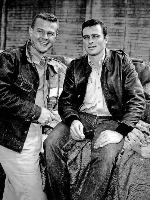 Martin Milner & Glenn Corbett from Route 66
