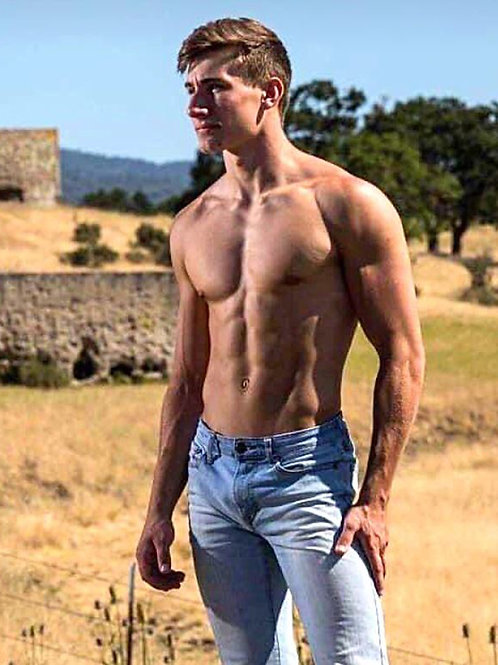 Shirtless in the Countryside