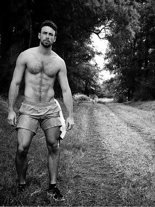By a Country Road