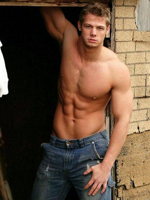 Brandon W. Jones Shirtless
