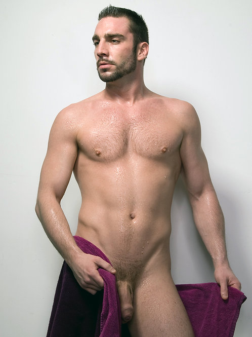 Dripping After his Shower