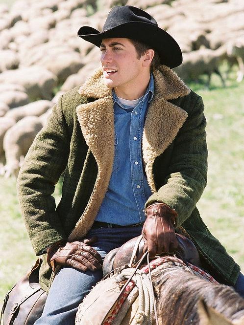 Jake Gyllenhaal in Brokeback Mountain on Horseback