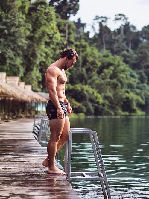Dripping Wet by the Lake