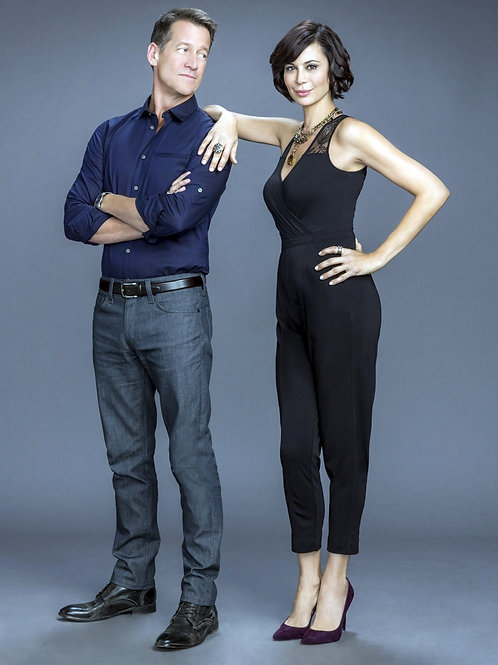 James Denton & Catherine Bell in a Promo for the Good Witch
