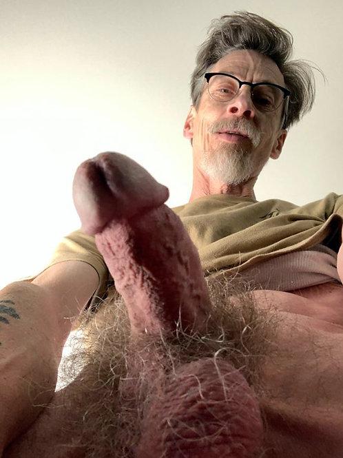 Older Man with a Furry Bush