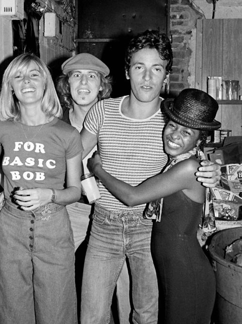 Bruce Springsteen in 1977 Wearing Tight Faded Jeans