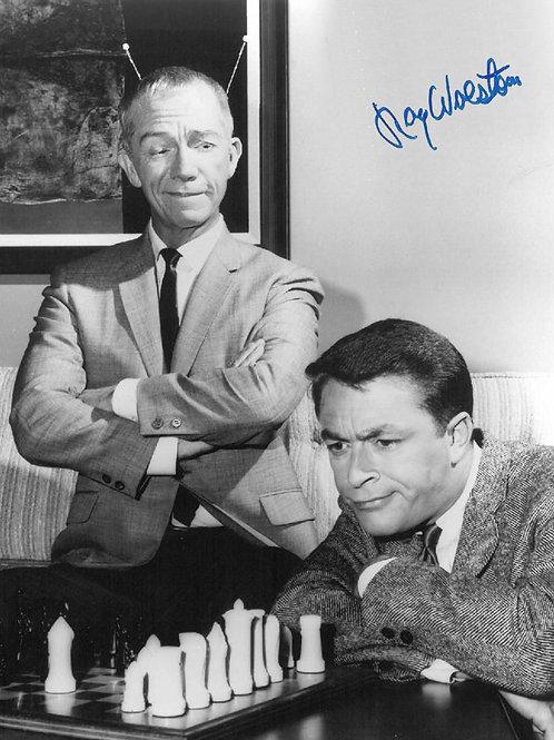 My Favorite Martian Ray Walston & Bill Bixby Playing Chess
