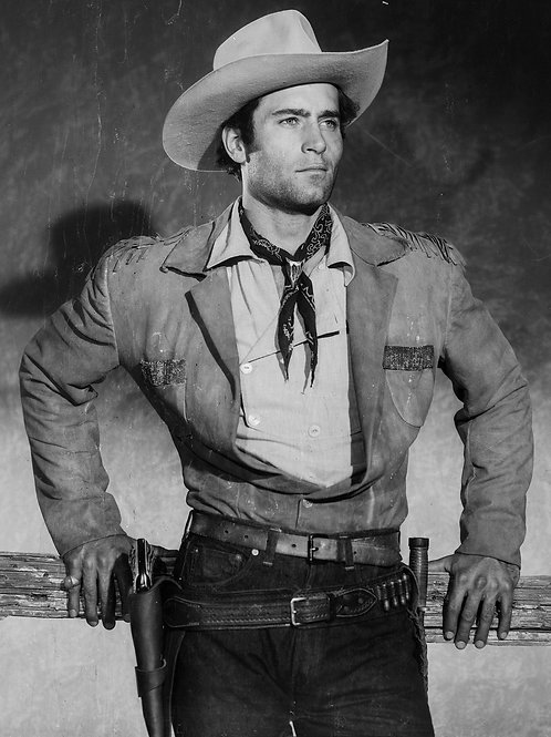 Clint Walker Cowboy Promo