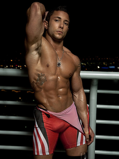Hot Guy in a Red Singlet