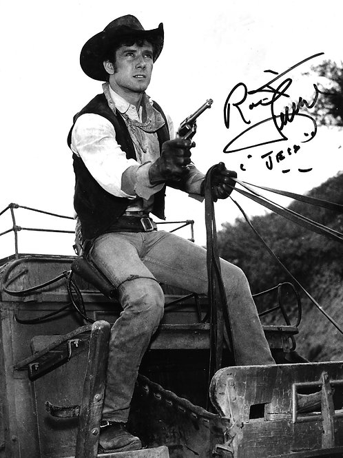 Robert Fuller on a Stagecoach in Laramie