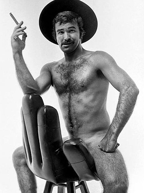 Burt Reynolds High in the Chair