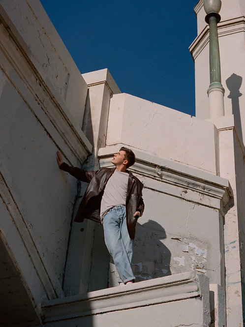 Nick Robinson on a Roof