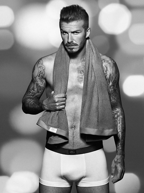 David Beckham in Briefs