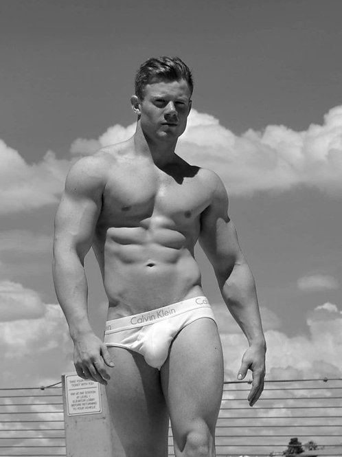 Aaron Ryker on the Beach