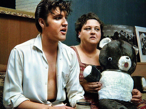 Elvis Presley & his mother Gladys in 1956