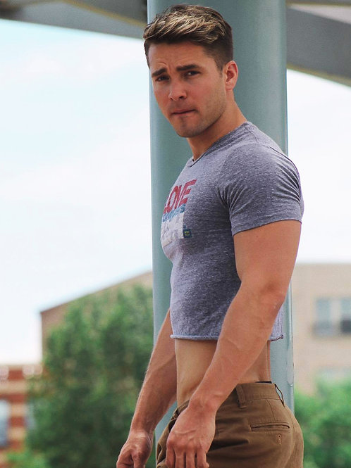 Andrew Neighbors Wearing a Tight Shirt
