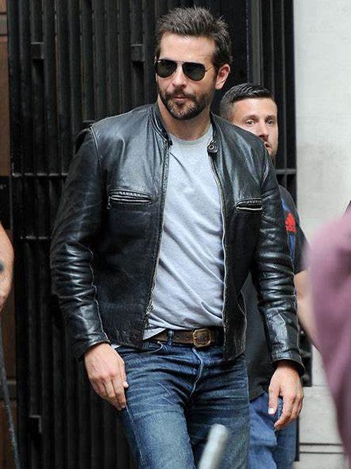 Bradley Cooper in Leather & Denim