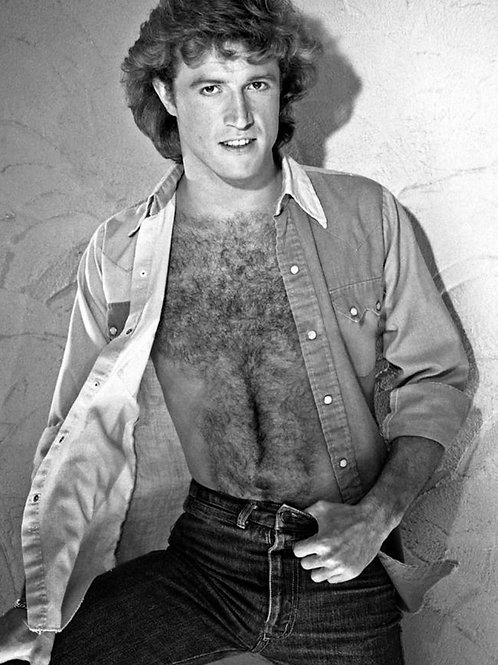 Andy Gibb Showing off his Hairy Chest