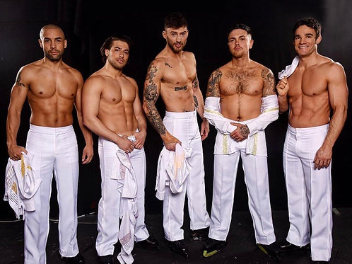Bare Chests & White Pants