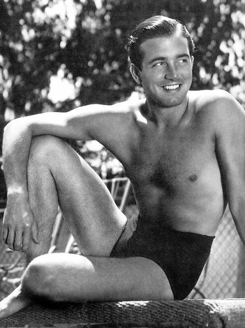 John Payne in a Swimsuit