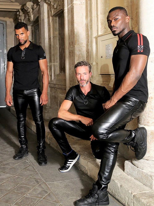 3 in Leather Pants