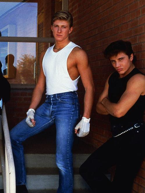 Billy Jayne in Faded Jeans
