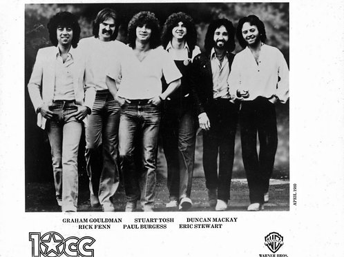 Singing Group the 10cc in a Promo Shot