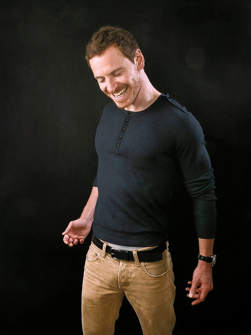 Michael Fassbender Showing a Nice Package in His Light Tan Pants