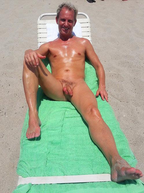 Light Green Beach Towel