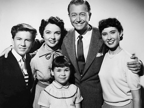 Cast of Father Knows Best in 1954