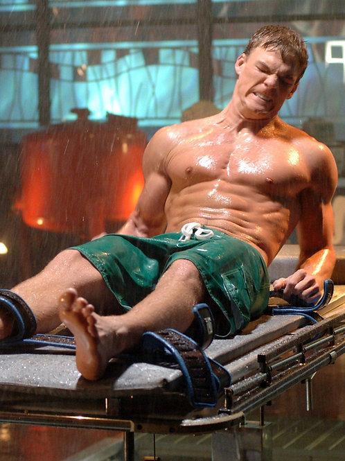 Alan Ritchson Shirtless as Aquaman