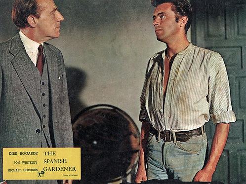Dirk Bogarde as The Spanish Gardner
