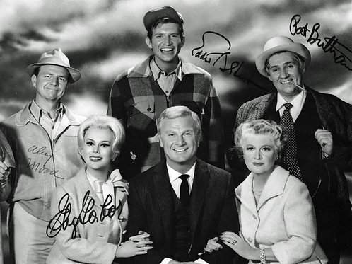 Cast of Green Acres Posing in a Promo Shot