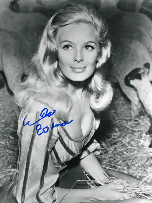 Beautiful Young Linda Evans in a Barn
