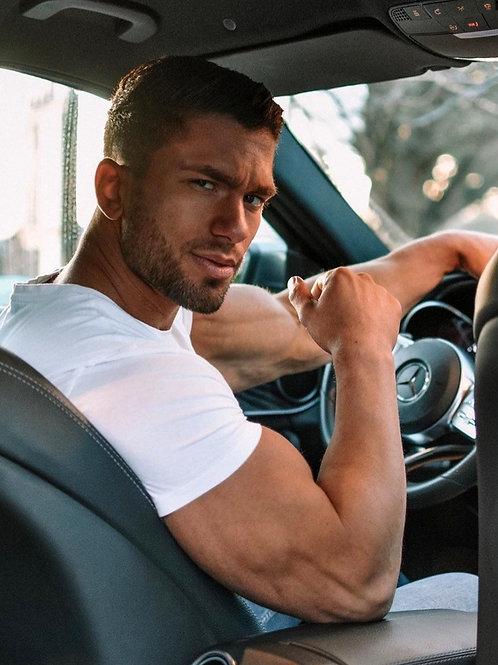 Marino Katsouris at the Wheel