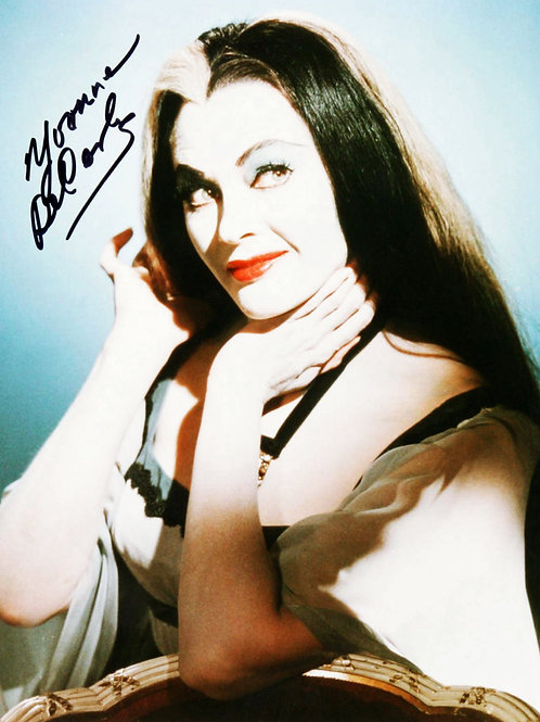 Yvonne DeCarlo as Her Lily Munster Character