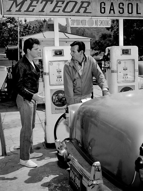 David Janssen with a Hot Greaser in the Fugitive