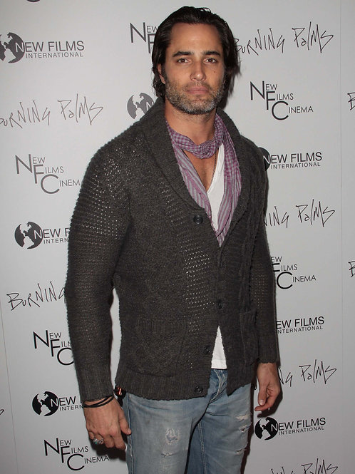 Victor Webster Scruffy Wearing Jeans