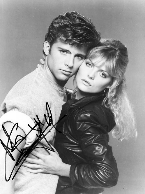 Maxwell Caulfield & Michelle Pfeiffer in Grease 2