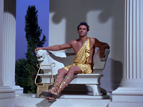 Michael Forest as Apollo in Star Trek