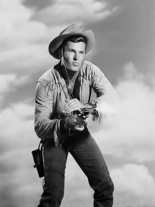 Ty Hardin in Bronco Ready to Shoot
