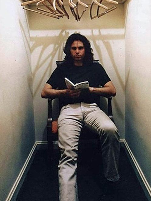 Bulging Jim Morrison Reading in the Closet
