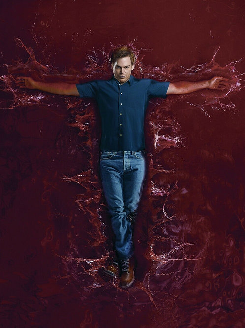 Michael C. Hall in a Promo for Dexter