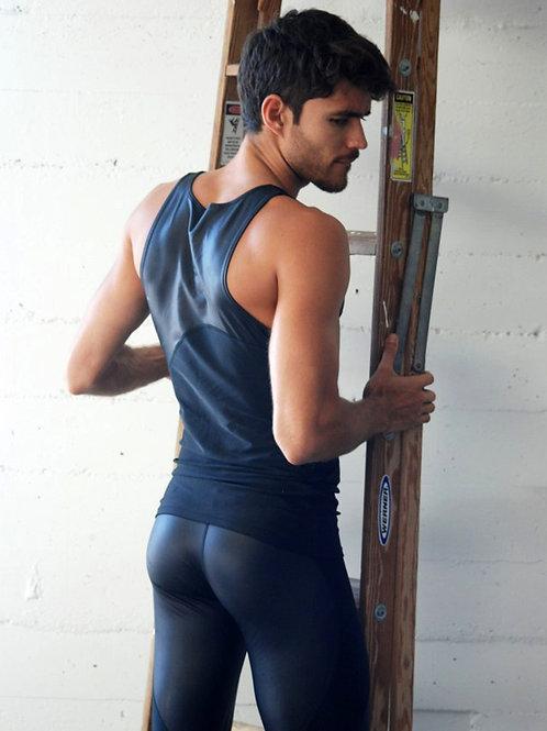 Caio Cesar Wearing Black Tights