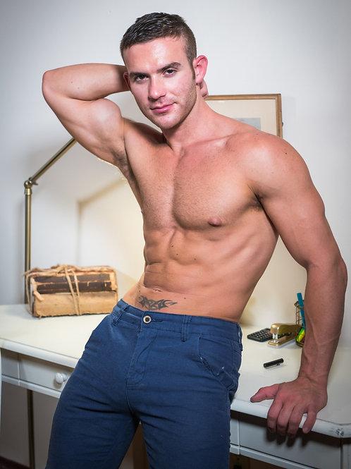 Hunk Packing Blue Pants