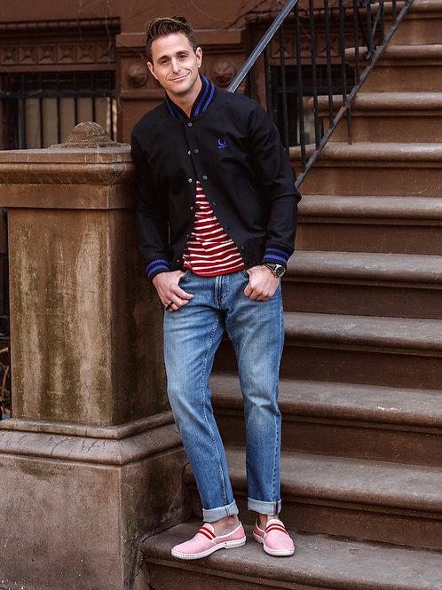 Cameron Douglas on the Steps